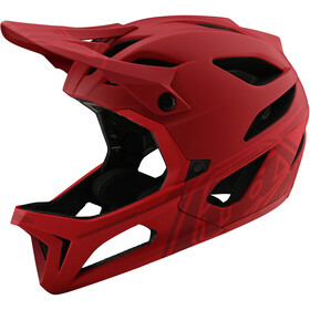 Troy Lee Designs Stage MIPS Casco, stealth red